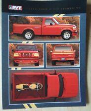 FORD F-150 LIGHTNING orig 1994 USA Mkt sales leaflet brochure - SVT