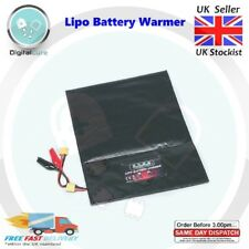 Programmable Lipo Battery Warmer Heater Bag 12V DC XT60 Alligator Clips - DJI