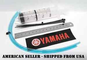 Yamaha Fork Oil Service Tool Shop Manual Repair Seal Shock Dust Wiper Saver KYB