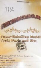 Precision Scale O #1164 Coupler Pocket, for: C-Class Tender (Brass Casting)