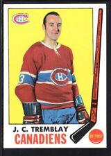 J. C. TREMBLAY 1969/70 TOPPS HOCKEY CARD #5 CANADIENS