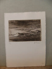 TOSI ETCHING  WITH C.O.A.
