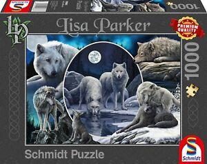 Lisa Parker - Magnificent Wolves 1000 Piece Schmidt Jigsaw Puzzle