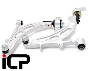 Alloy LH & RH Front Lower Wishbone Suspension Arm Fits: Subaru Impreza 00-07 STi