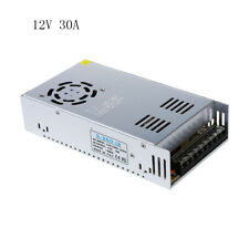 AC110V 220V to DC 12V 30A 360W Power Supply Transformer Regulated Switching RGB