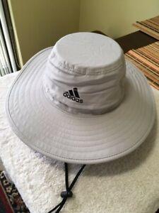 Adidas Golf Sun Hat in Light Gray size SM/Med