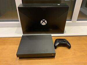 Microsoft Xbox One X Project Scorpio Console - 1TB Excellent Condition