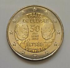 France 2013 Traité de l'Elysée pièce de 2 euro commémorative neuve