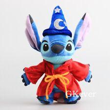 "Disney Lilo & Stitch Stitch Wizard Magician Fantasia Plush Toy 10"" Doll"