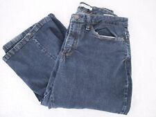 LEE Slender Secret Lower on Waist Dark Wash Denim Blue Jeans Women's 6M 28X32