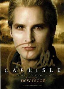 """PETER FACINELLI - Carlisle Cullen in """"Twilight"""" - Autograph Trading Card"""