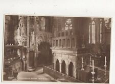 Edward The Confessor Shrine Westminster Abbey London Vintage RP Postcard 574a