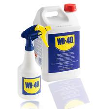 Pack Bottle Wd40, 169.1oz + sprayer Wd-40