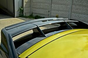MAXTON SPOILER CAP FOR FORD FOCUS RS MK2 2004-2011 (GLOSS BLACK)