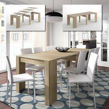 Tavolo allungabile fino a 237 cm salvaspazio moderno consolle soggiorno cucina
