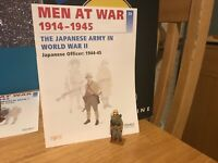 Del Prado Men at War 1914-1945, #20, Japanese Officer, 1944-45, fig/book