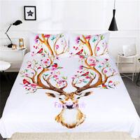 Deer Tree Single/Double/Queen/King Quilt/Doona/Duvet Cover Set Pillow Case