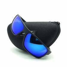 Wiley X ACPEA09 Peak Matte Black Blue Mirror Polarized New Authentic Sunglasses
