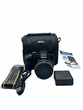 Nikon Coolpix B600 | 16MP, 1080P, 60x Optical Zoom, Wi-Fi & Bluetooth | Black