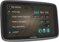 """TomTom Go Professional 6200 HGV Sat Nav Lifetime Full Europe Maps 6"""" Screen Size"""