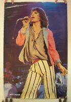 Mick Jagger Poster Vintage The Rolling Stones