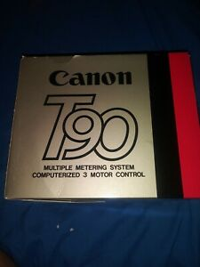 Canon T90 Multiple Metering System Computerized 3 Motor Control Camera