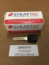 Genuine OEM GM Pontiac Oldsmobile Buick Isuzu Chevrolet Key Blank 26053314
