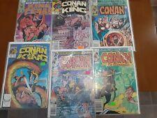 New ListingConan The Barbarian Comic Book 26x Lot all Sleeved