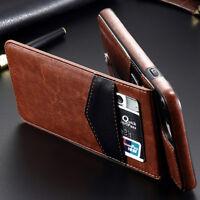 Coque de Protection iPhone 7 Plus 8 Plus Etui Cuir Simili Support Dorsal / BR