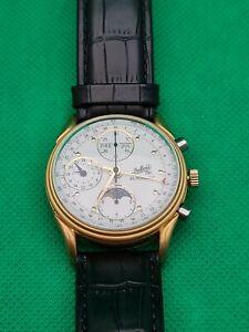 DuBois 1785 Automatic Chronograph Uhr Mit Mondphase & Datum Vollkalender Limited