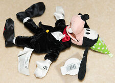 Disney Goofy Bean Bag Doll Happy New Year 2001