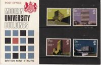 GB Presentation Pack 33 1971 Modern University Buildings