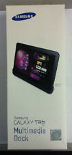New Multimedia Dock  & Charger For Samsung Galaxy Tab 10.1 3.5mm Stereo Audio