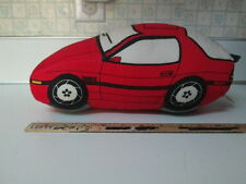 88' RED MAZDA RX-7 TURBO II PLUSH SOFT PILLOW - STOCK#1 - Very Rare!