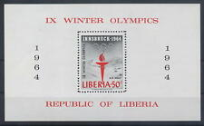 Liberia Bl. 28A ** (Olympiade 1964 Innsbruck) (419)