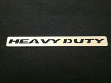 "2pc. Bully Universal 11"" HEAVY DUTY Stainless Steel Body Decal Badge Emblem Logo"