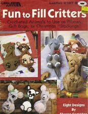 ~Fun To Fill Critters Crochet Pattern Book~