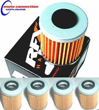 HONDA CRF250 CRF450  04-17  RFX 116 FX1000 OIL FILTERS  (PACK OF 4) FREE P&P