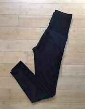 Electric By Stephanie Bohbot Sz S Maternity Leggings Black With Mesh Panels
