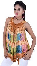Wholesale Ladies Tie Dye Tops for Summers - 10 pcs