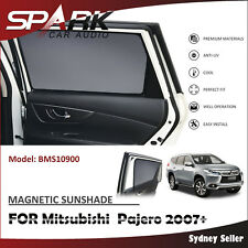 A MAGNETIC CAR WINDOW SUN SHADE BLIND MESH REAR DOOR FOR Mitsubishi Pajero 2007+