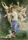 Best Gift Canvas HD Print Adolphe Bouguereau Angels oil painting Art Home Decor