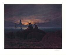 Caspar David Friedrich sorga al mare POSTER stampa d'arte immagine 66x80cm