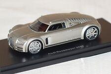 Audi Rosemeyer 2000 silber 1:43 BoS 43460 neu & OVP