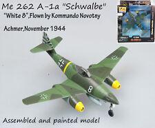 WW2 German Me 262 A-1a Schwalbe white 8 jet plane aircraft no diecast Easy model