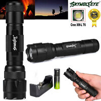 W-878 5000Lm 5 Modes CREE XML T6 LED Flashlight Lamp Torch 18650 Battery+Charger