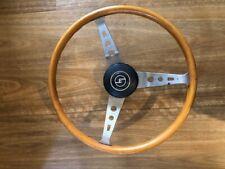 1959 Mazda wooden steering wheel