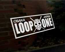 LOOP ONE OSAKA JAPAN JDM car vinyl decal vehicle bike graphic bumper sticker