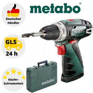 Metabo Bohrschrauber PowerMaxx BS 10,8 V Bohrmaschine Bohren Schrauben + Koffer