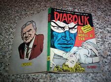 DIABOLIK ANNO VI (SESTO) ORIGINALE N.24 DEL 1967 MOLTO BELLO CON ADESIVI